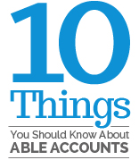 10 Things You Should Know About ABLE Accounts